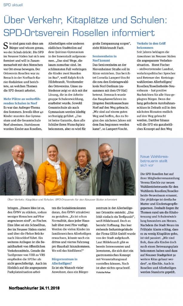 Artikel aus dem Norfbachkurier