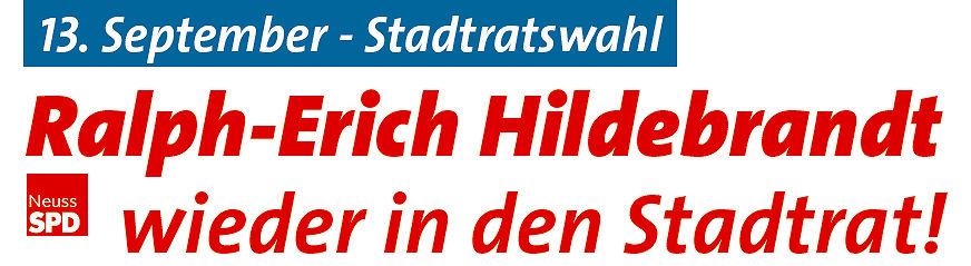 Ralph-Erich Hildebrandt wieder in den Stadtrat